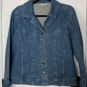 Harve Benard size LG jean jacket